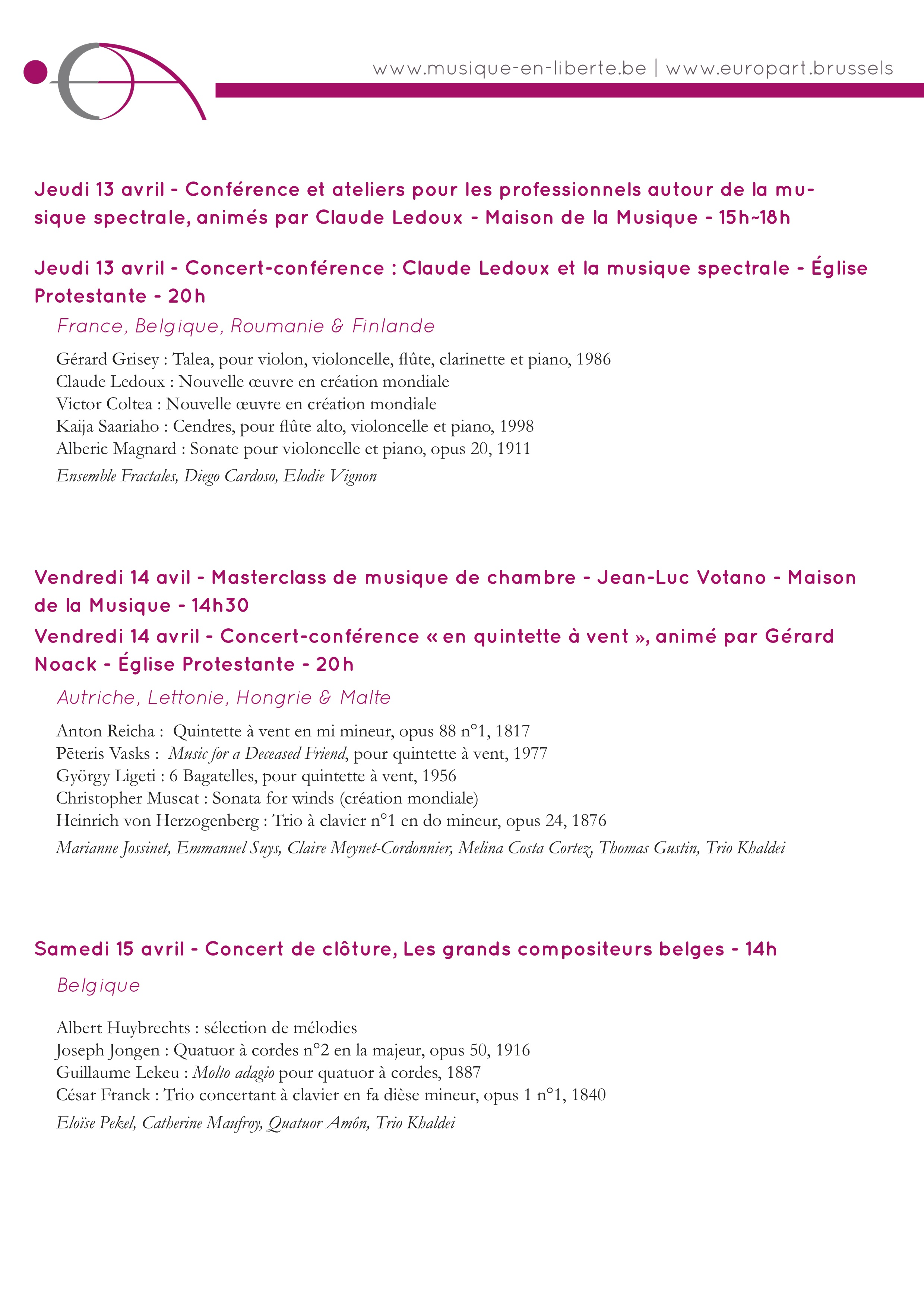 EuropArt_Programme_2017
